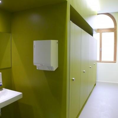 WC's Robert-Mayer-Gymnasium Heilbronn